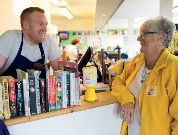 Collection box volunteer sought by Marie Curie