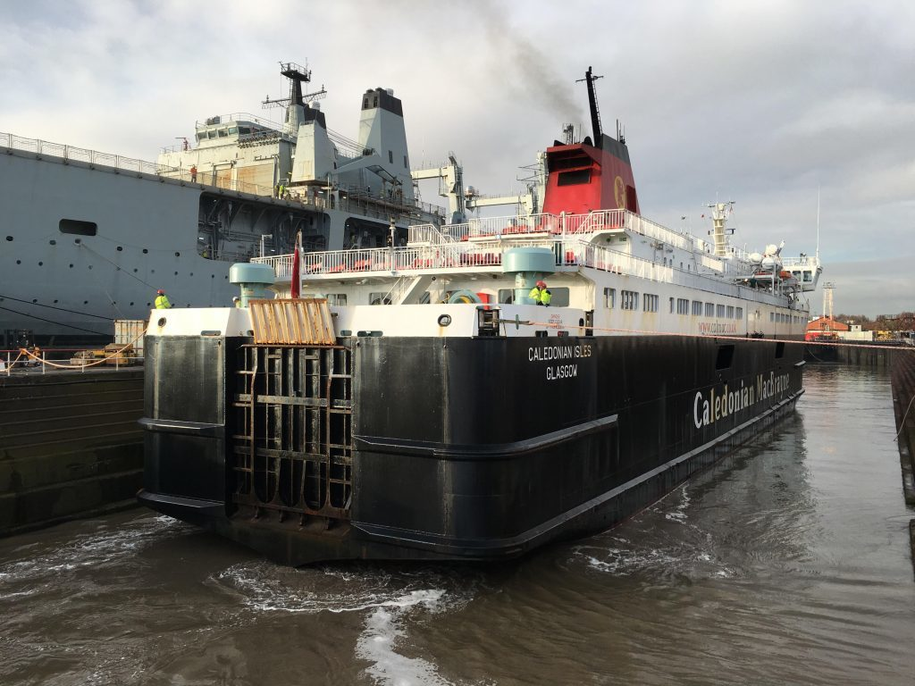 Caledonian Isles gets comfy new fit out