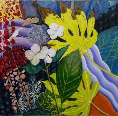 Art show is inspired by an Arran garden