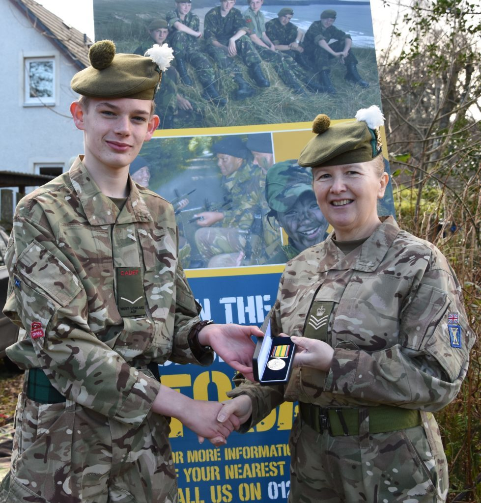 Army Cadets sign up new recruits at open day