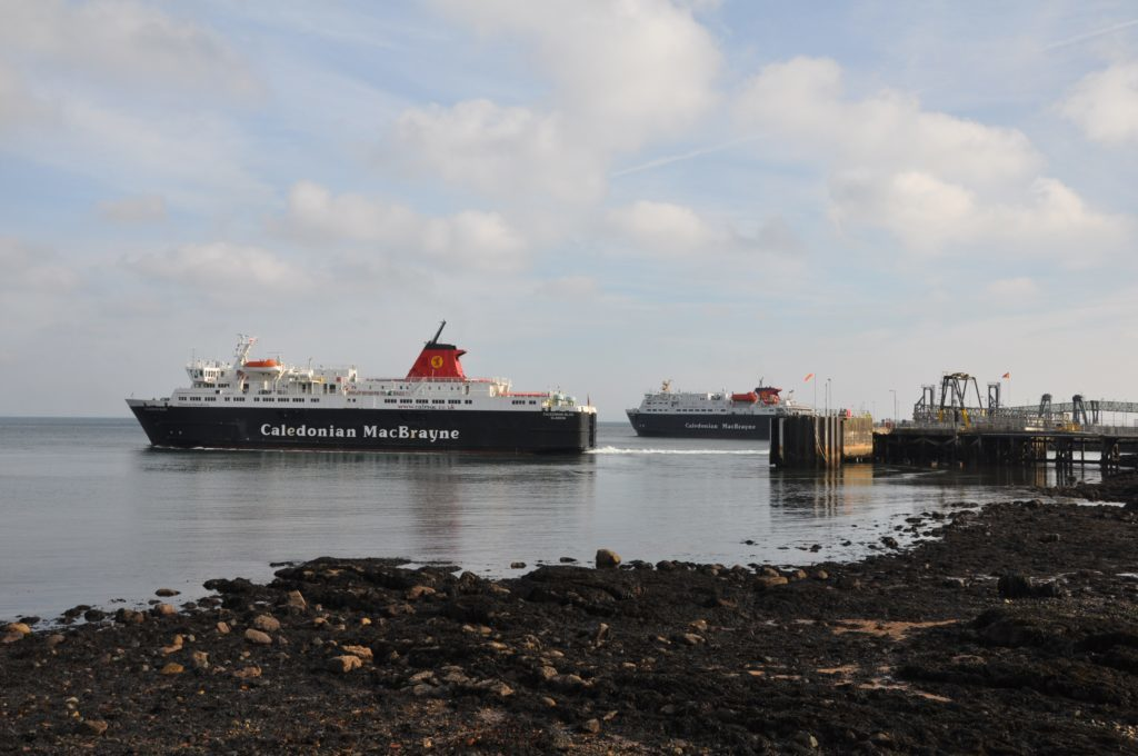 Seeing double in Brodick
