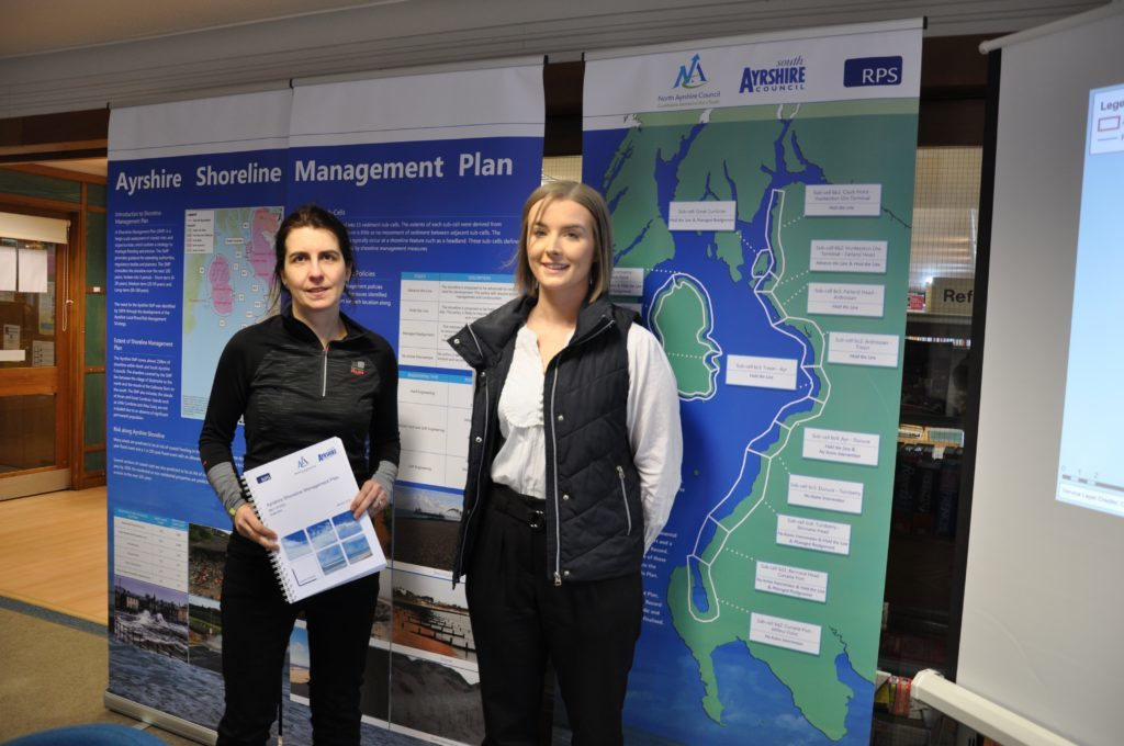 Arran residents get their say on erosion plan