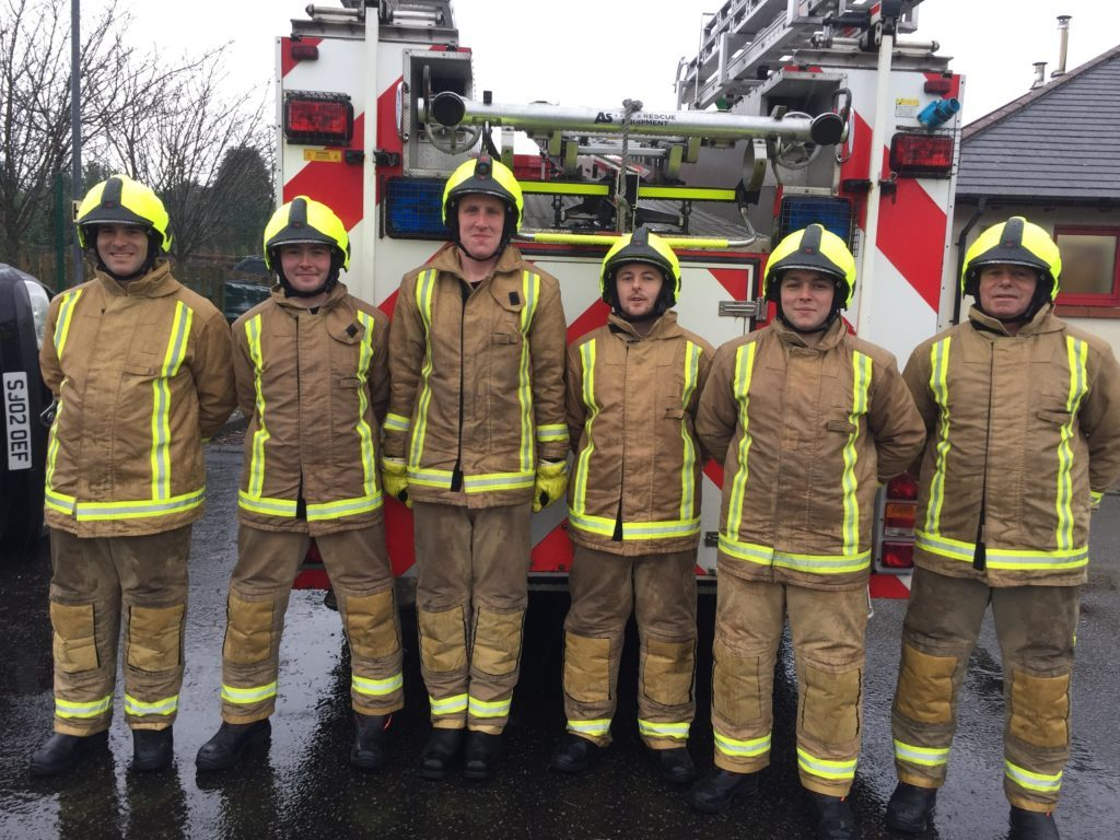 New recruits all fired up for training