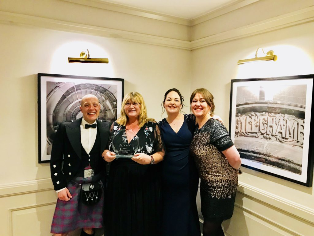 Double delight for Arran hotels at new awards