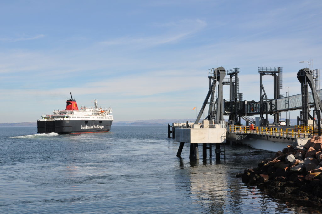 New Brodick ferry terminal opens