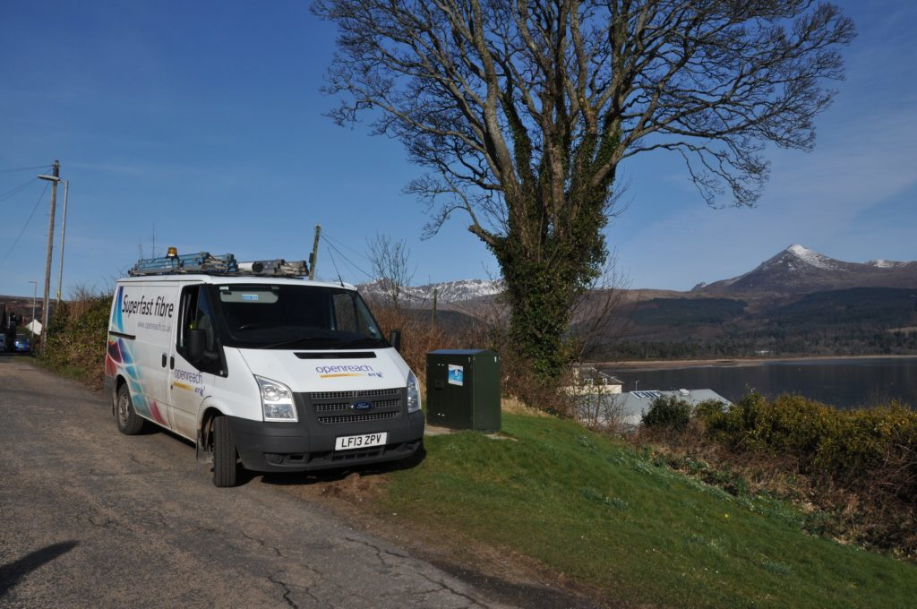Arran Broadband bringing connectivity to whole island