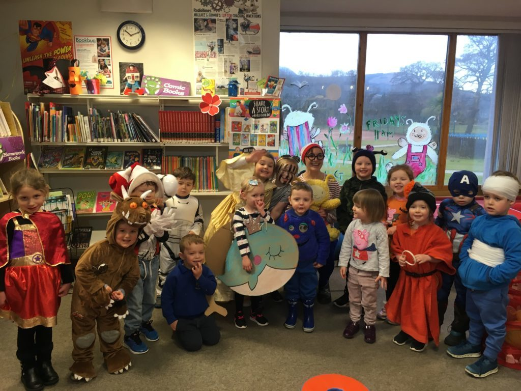 World Book Day celebrated late in Brodick