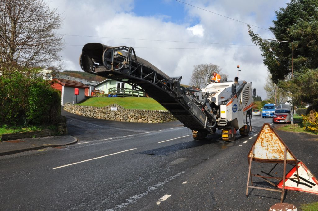 Drivers ire at Lamlash roadworks
