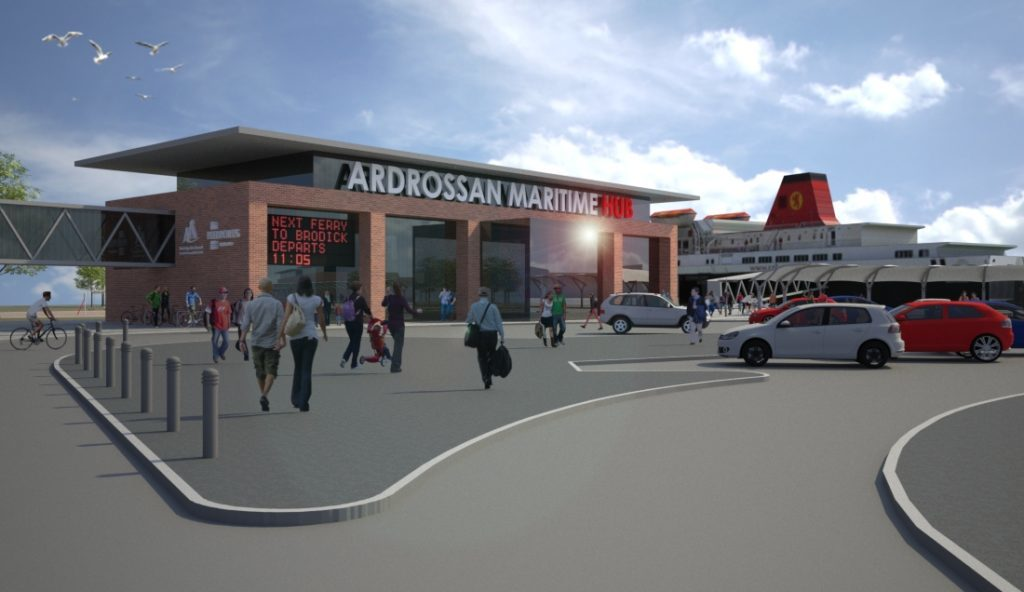 Ardrossan harbour works get go ahead