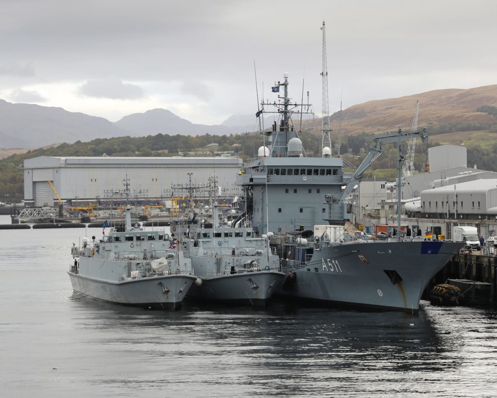 Major military exercise to start in the Clyde