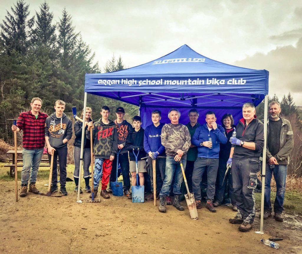 Trail repair day