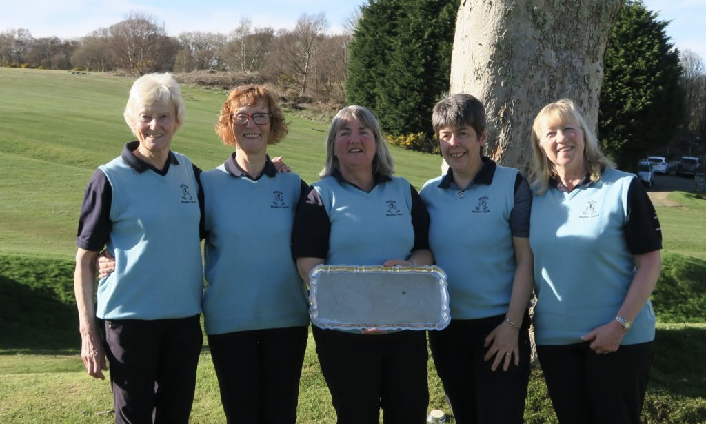 Three in a row as Brodick ladies lift Kiscadale Salver