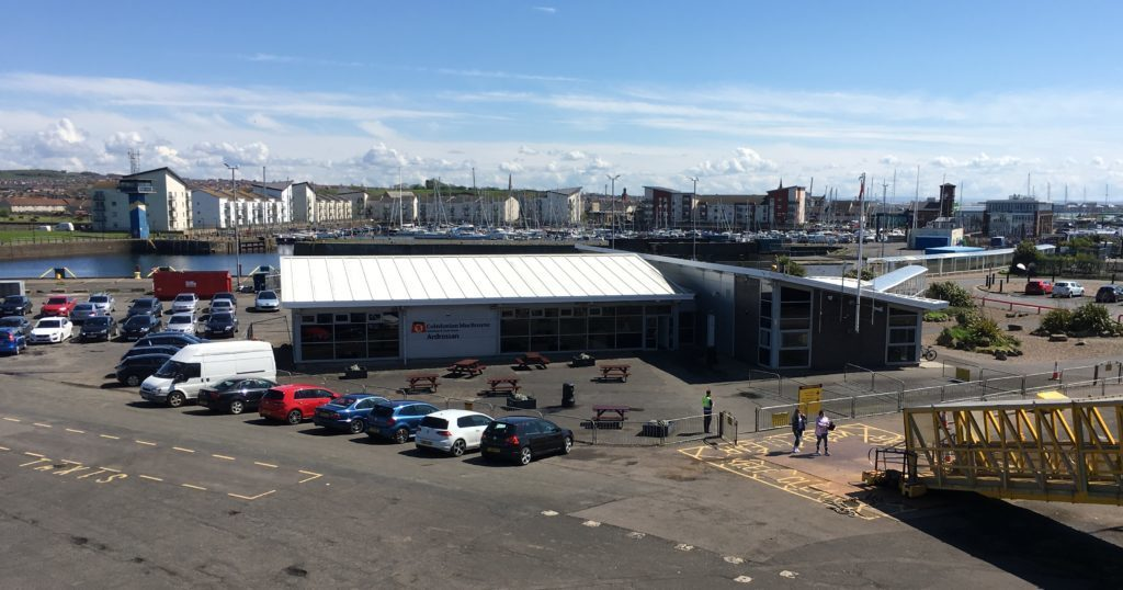 Ferries must stay in Ardrossan during development works