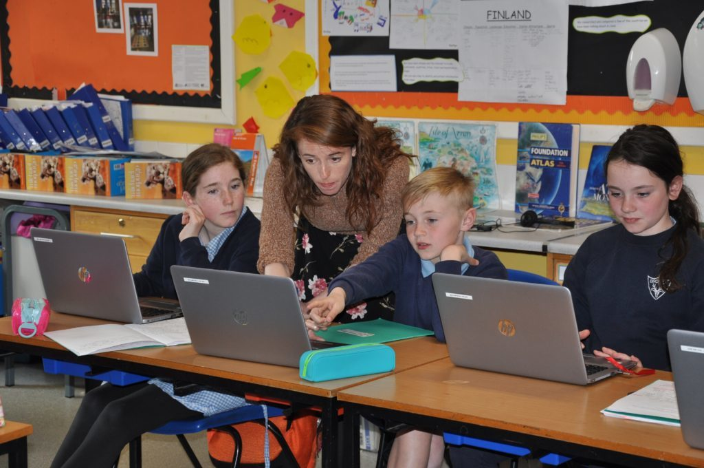 Schools benefit from broadband boost