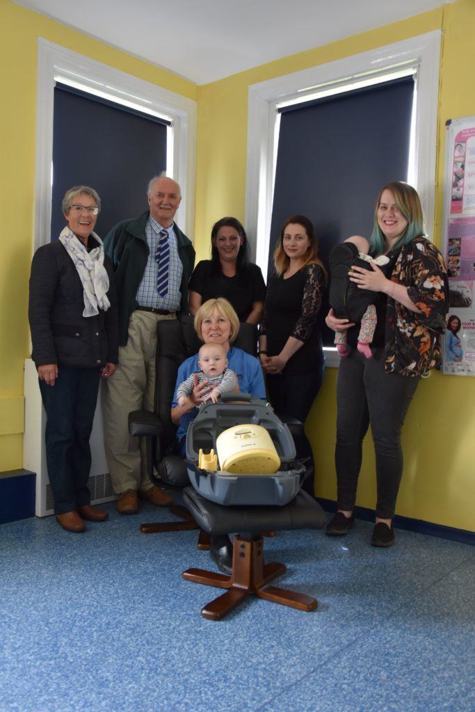 Community support for maternity unit