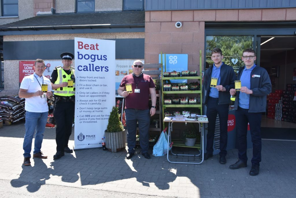 Co-op helps in the fight against doorstep crime