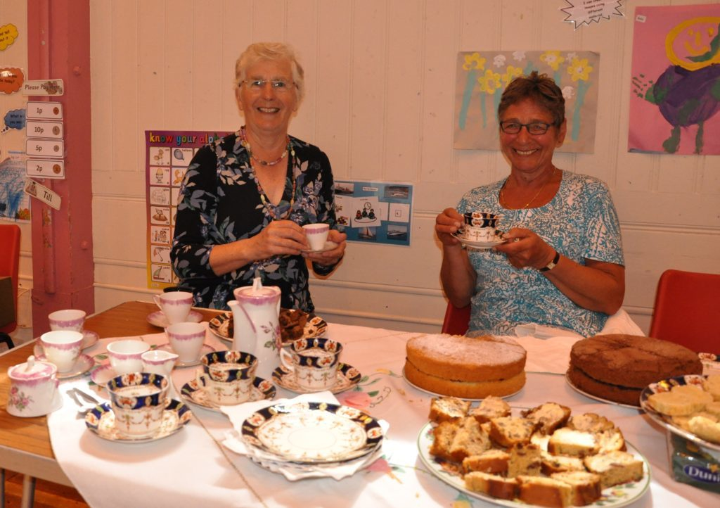 Volunteering celebrated at Big Arran Lunch