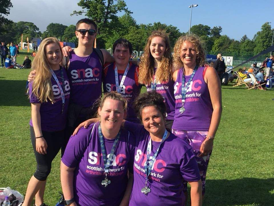 Family take on running challenge for Rosanna