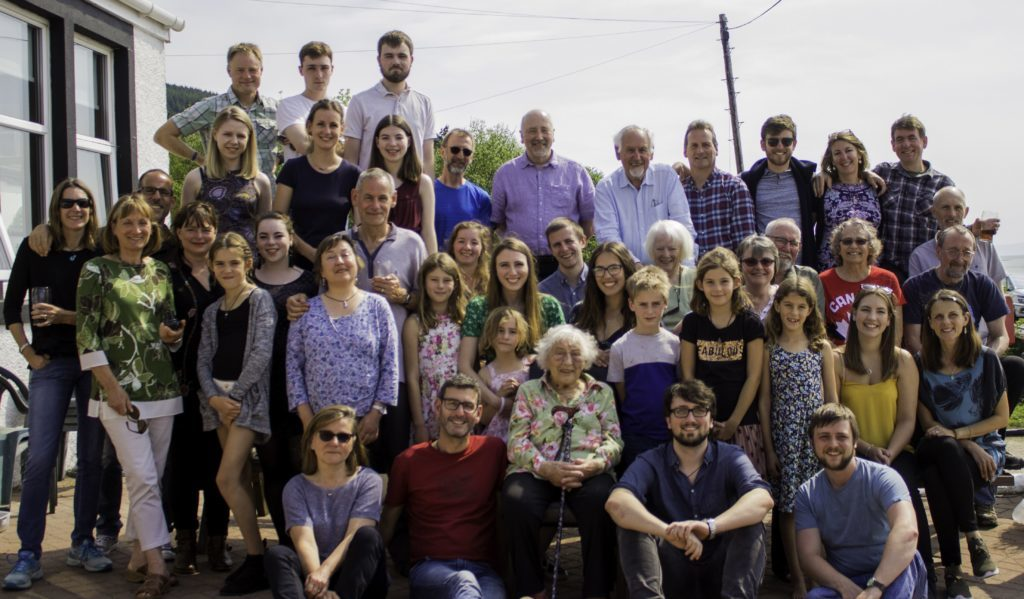 Worldwide 90th birthday gathering