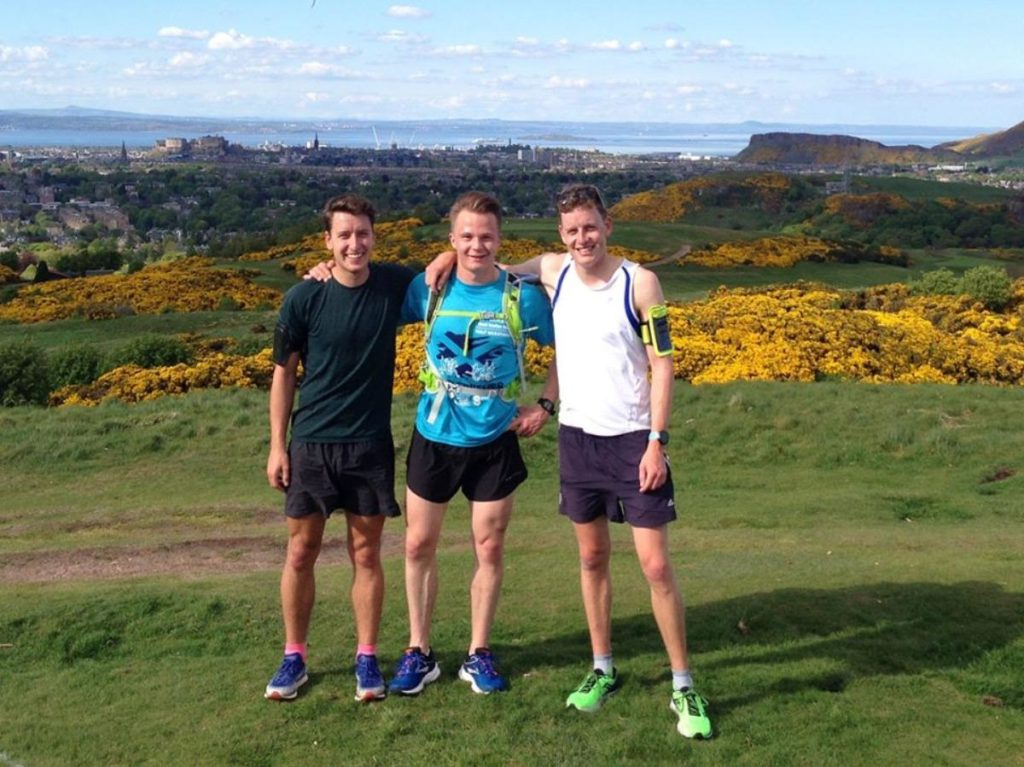 Long distance trail run for charity