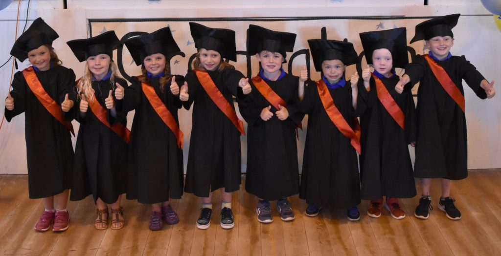 Early years graduation day