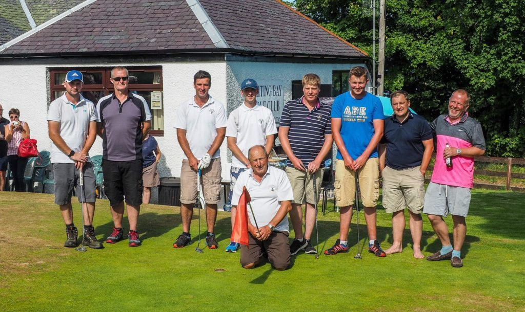 Golfers complete 24 hour charity challenge