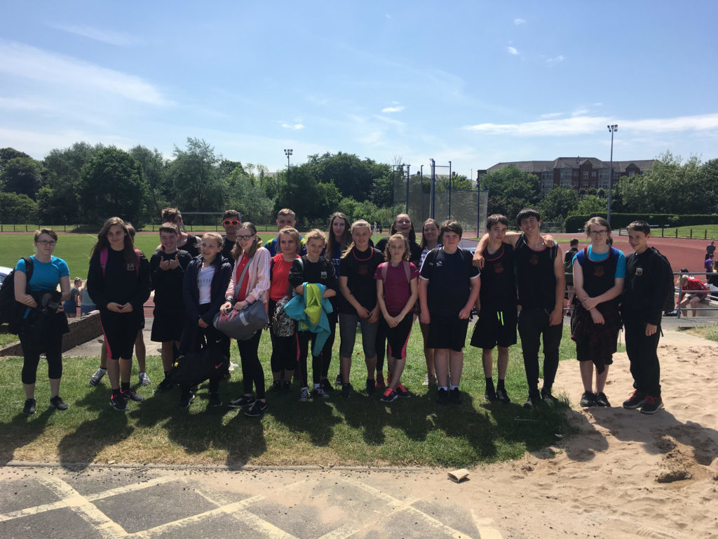 Track and field success at Ayrshire athletics finals