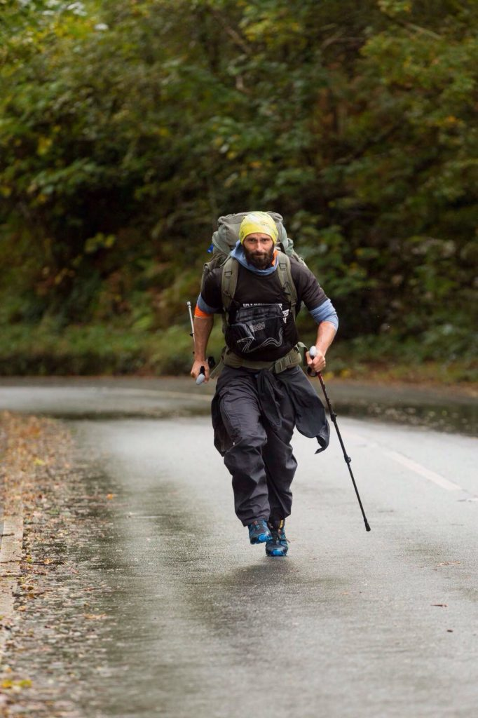 Christian makes long walk to Arran