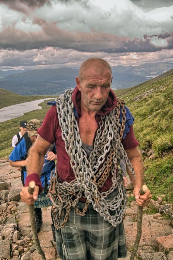 Big Davy's Ben Nevis chain challenge