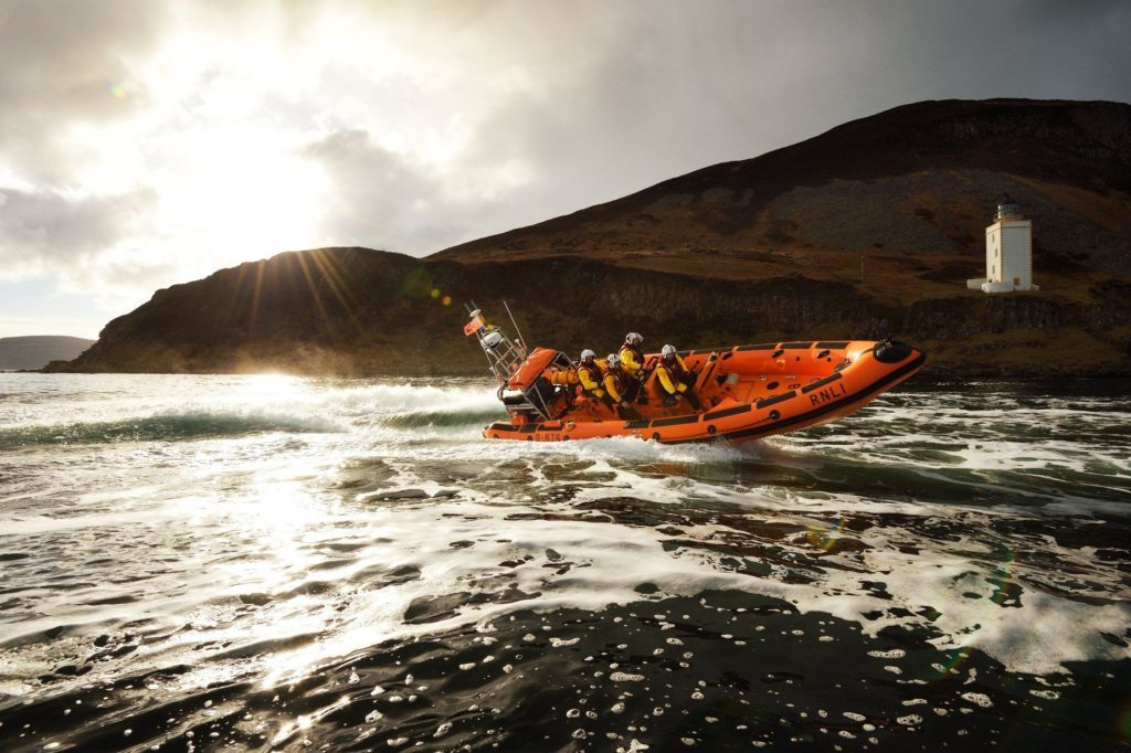 Night rescue for RNLI