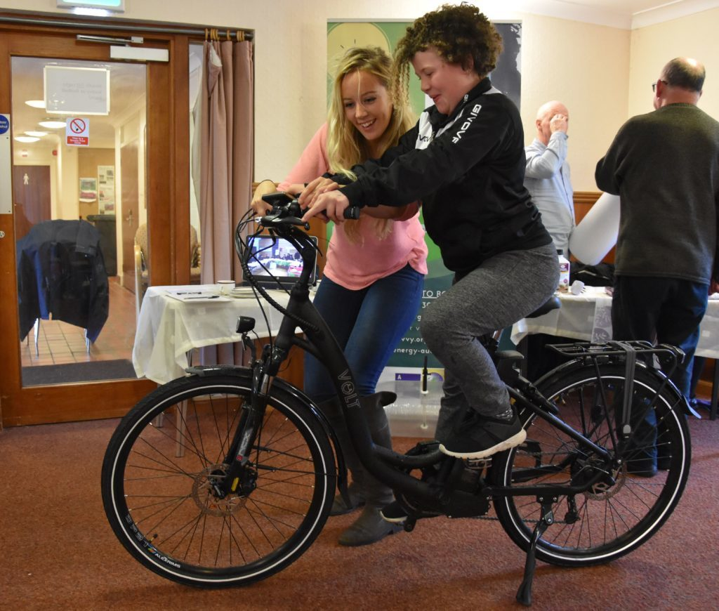 Get on your bike and help Arran go green