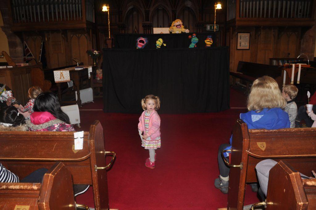 Fun day at Lamlash Church gets messy!