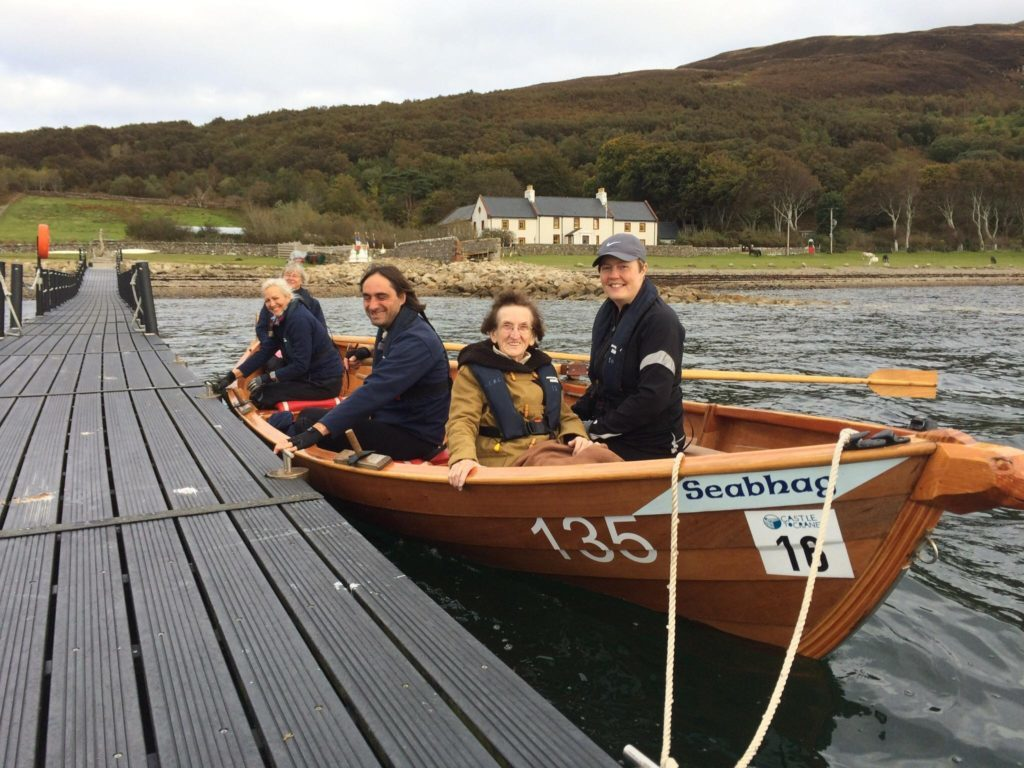 Jessie makes it back to Holy Isle after 75 year wait