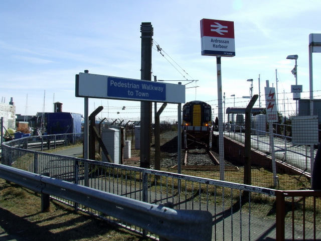 No plans to upgrade Ardrossan Harbour station, MSP told