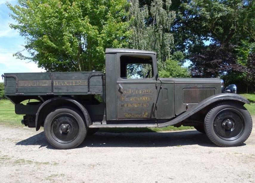 Historic Arran truck goes under auction hammer