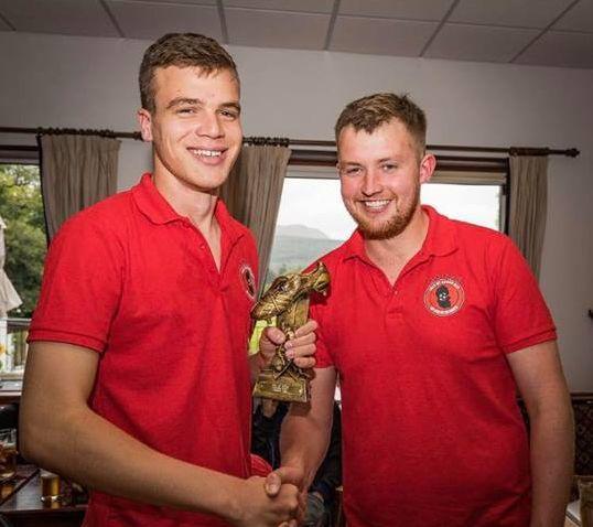 Double joy for Toby at Arran football awards