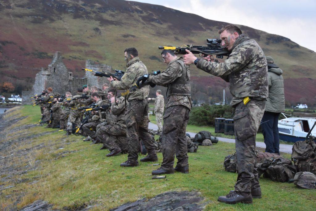 Liberating Lochranza … but it's all friendly fire