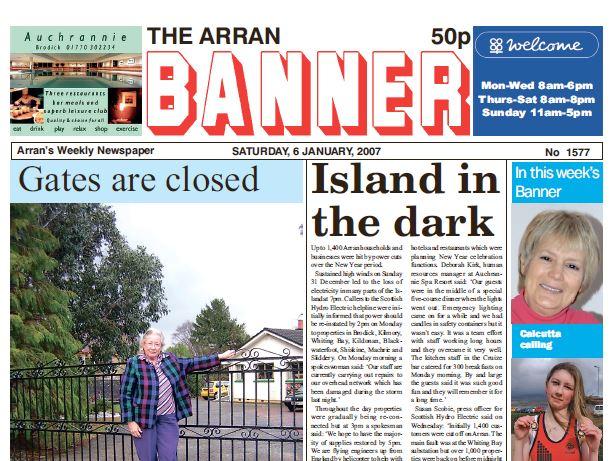 Arran Banner PDF Archive 2007
