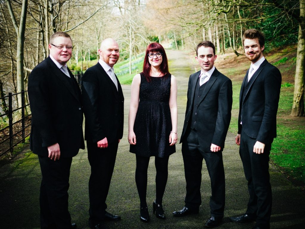 Pure Brass quintet play Brodick