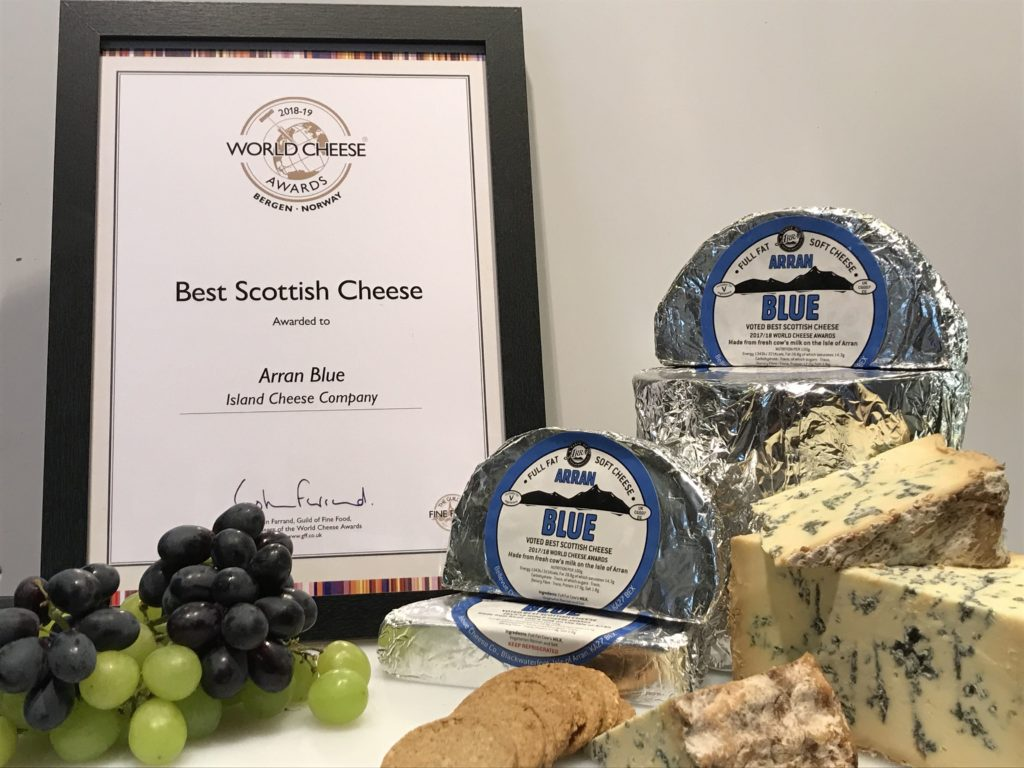 Arran's soft blue cheese is proving hard to beat