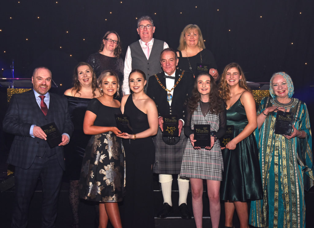 Sports volunteer scoops provost's top prize