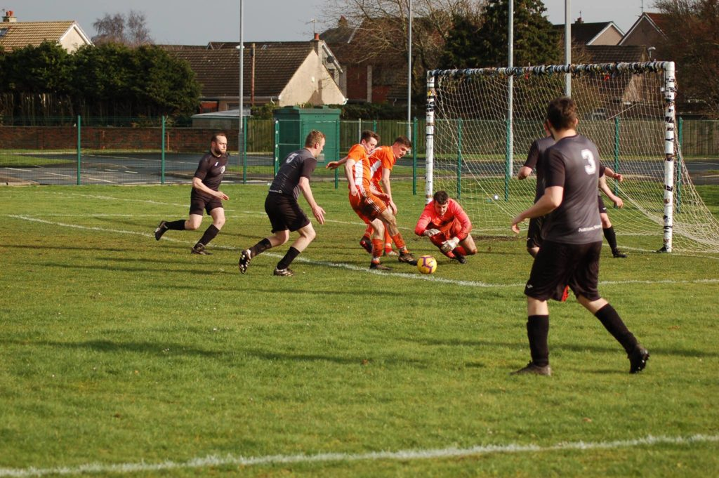 Arran romp to victory in Galston game