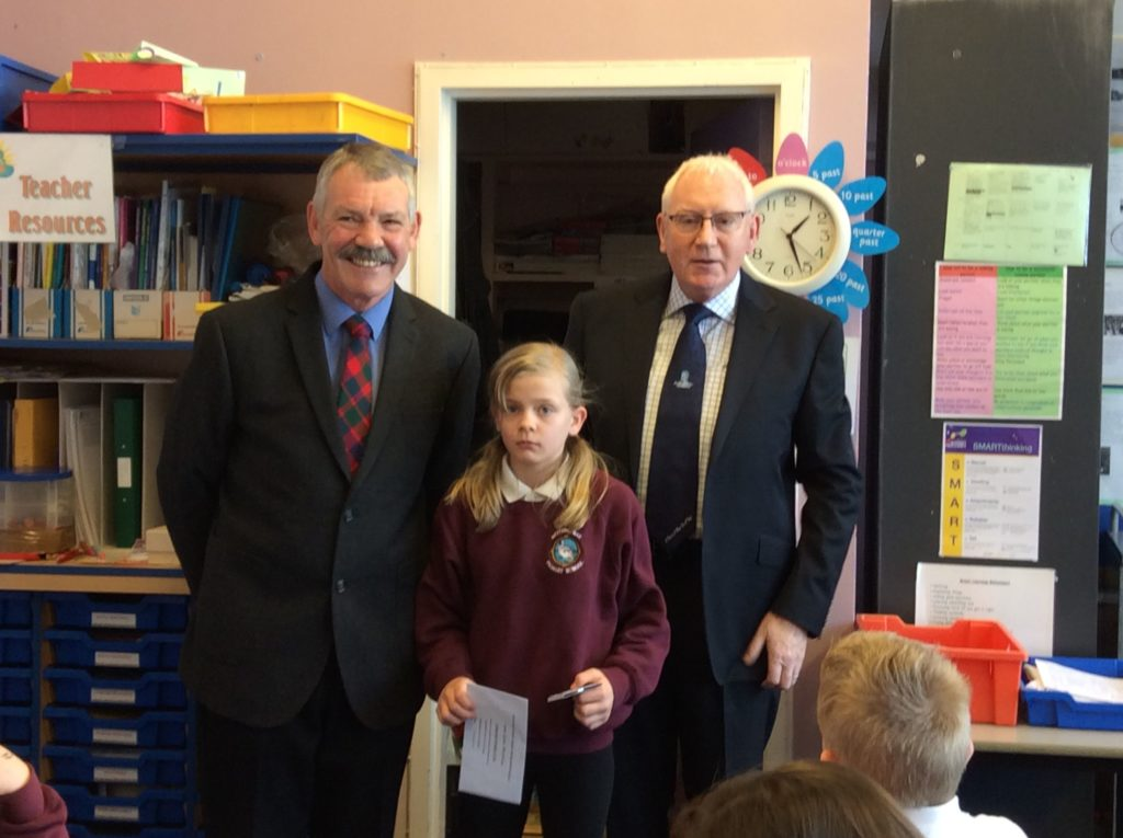 Sophie takes the honours in Burns painting competition