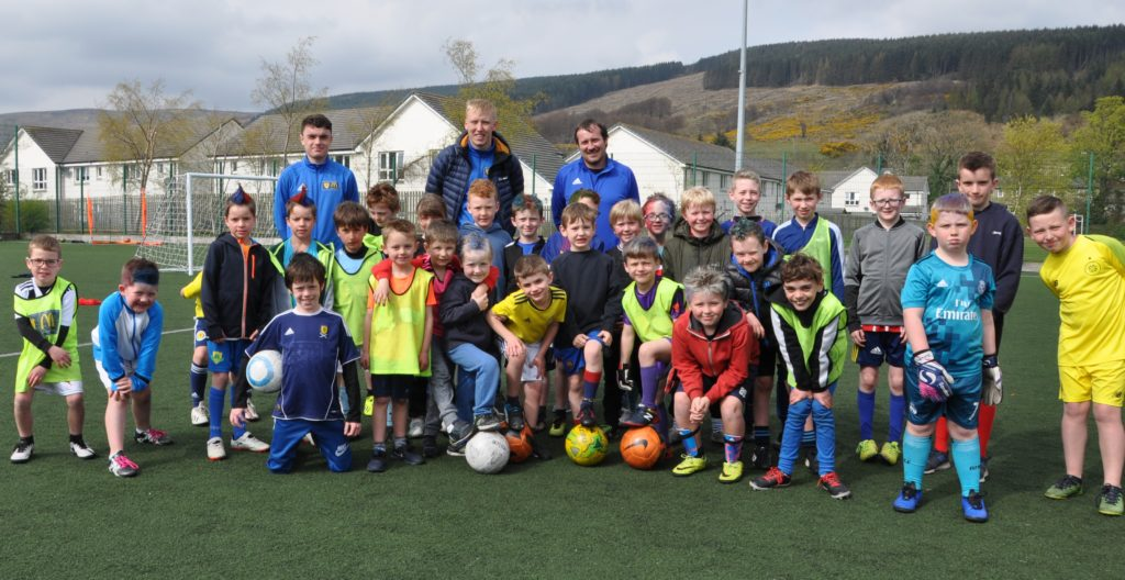 Youngsters put through their paces at Easter camp