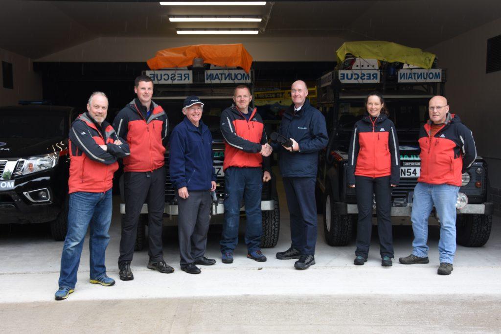 Mountain rescue team open day