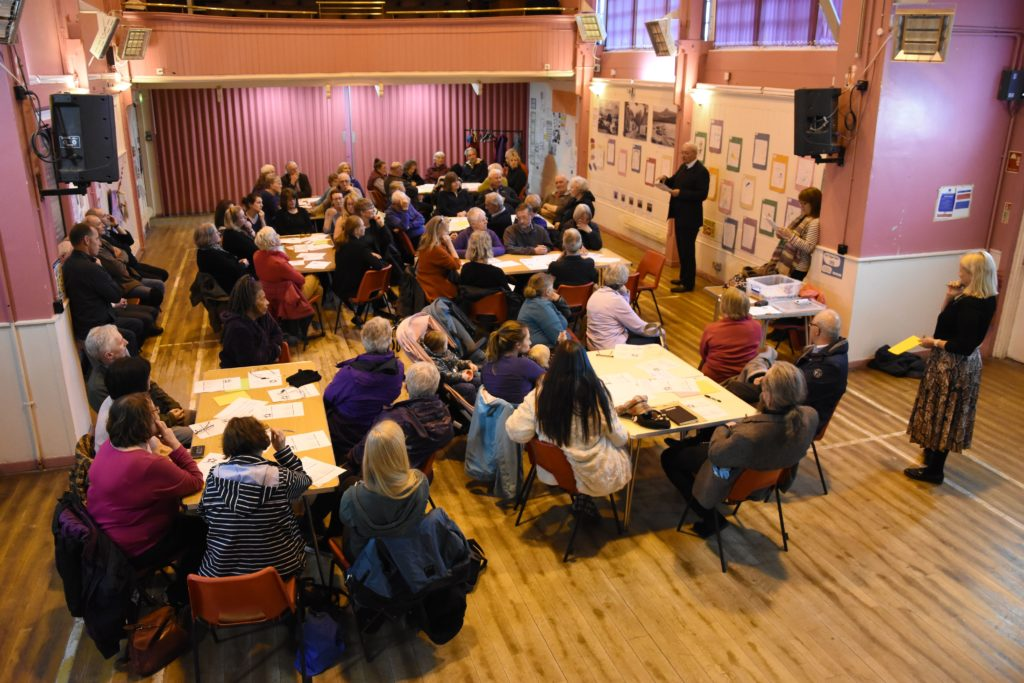Residents' impassioned plea to save village amenities