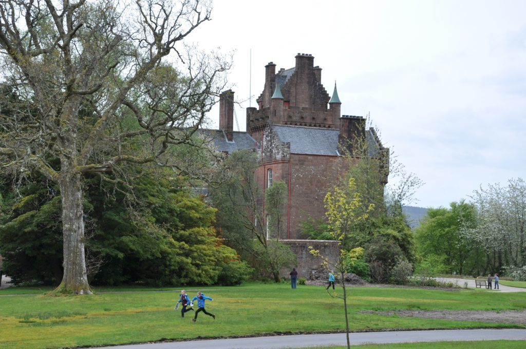 An enchanting fairy tale at Brodick's fairy trail