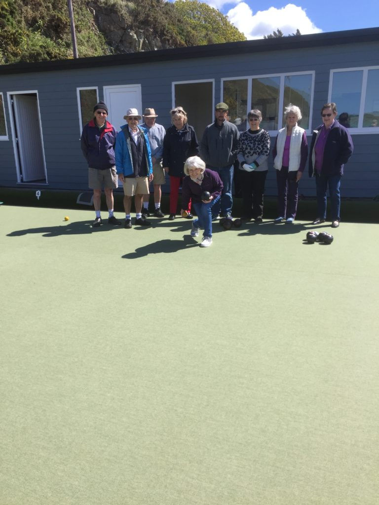 Fine weather for bowls opening
