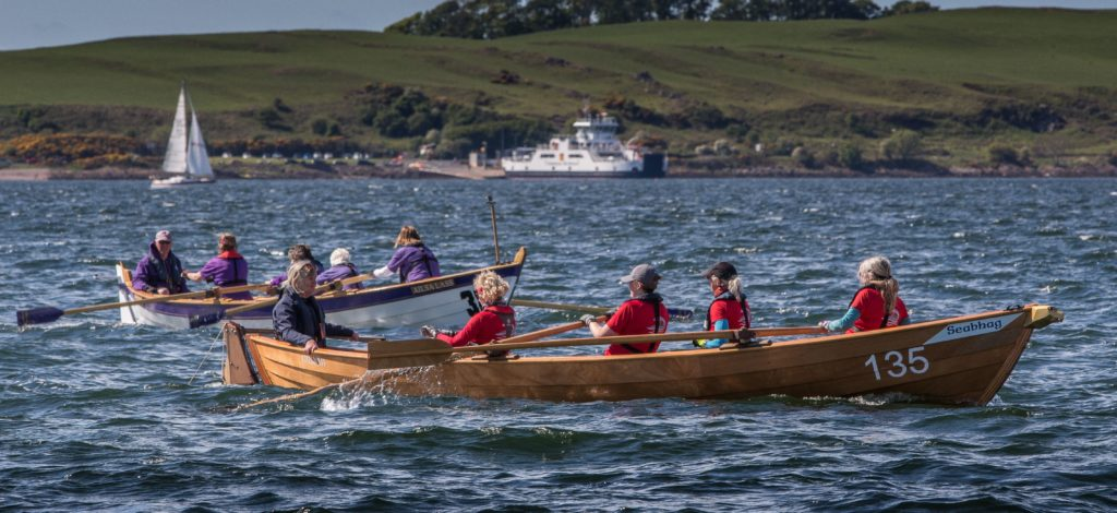 Arran Coastal Rowers take gold at Largs