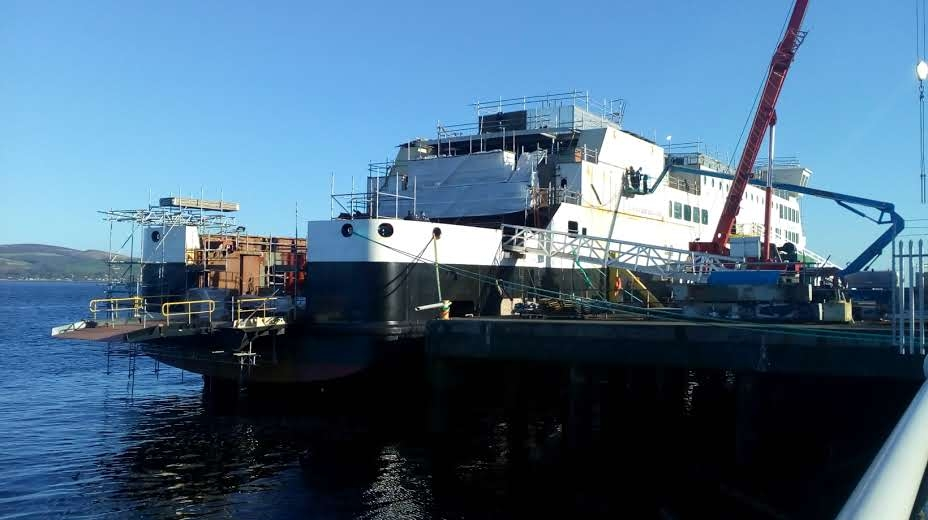 Yard snub over £61m demand to complete ferry contract